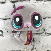 LP Littlest Petshop Seal Plush Gray Cute Big Eyes Stuffed Animal Soft Toy - $7.91