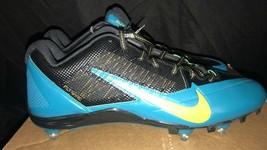 Nike Alpha Pro Jacksonville Jaguers Team Issue Cleats Size 14 - $31.88