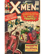 X-men #5 VG+/Fine range Jack Kirby Stan Lee 1964 MARVEL 1st print & series - $445.50