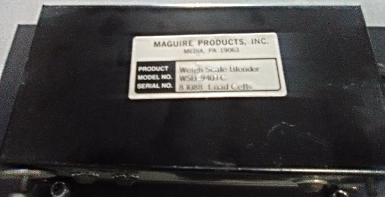 Maguire Weigh Scale Blender WSB-940TC
