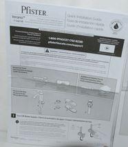 Pfister Verano F042VRKK Single Control Lavatory Faucet Brushed Nickel Finish image 9