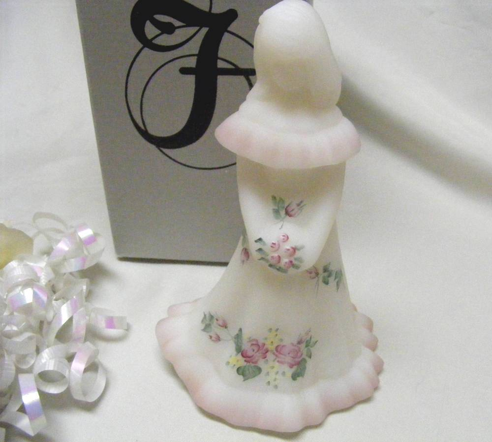 Primary image for 3416 Vintage Fenton Rose Garden Handpainted Artist Signed Bridesmaid Doll