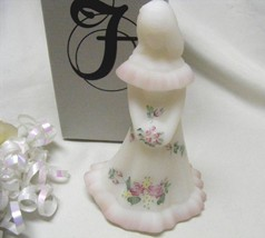 3416 Vintage Fenton Rose Garden Handpainted Artist Signed Bridesmaid Doll - $75.00