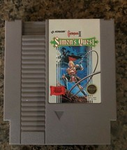 Nintendo Simon Quest NES Video Game, Cartridge Only, Tested 1985 - $12.34