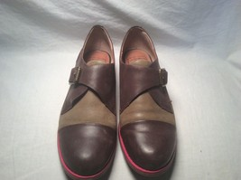 Lucky Brand Casual Dollar Brown Green Oxfords Size 8 - $38.60