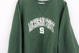 Vintage 90s Champion Mens Large Michigan State University Spell Out Sweatshirt image 4