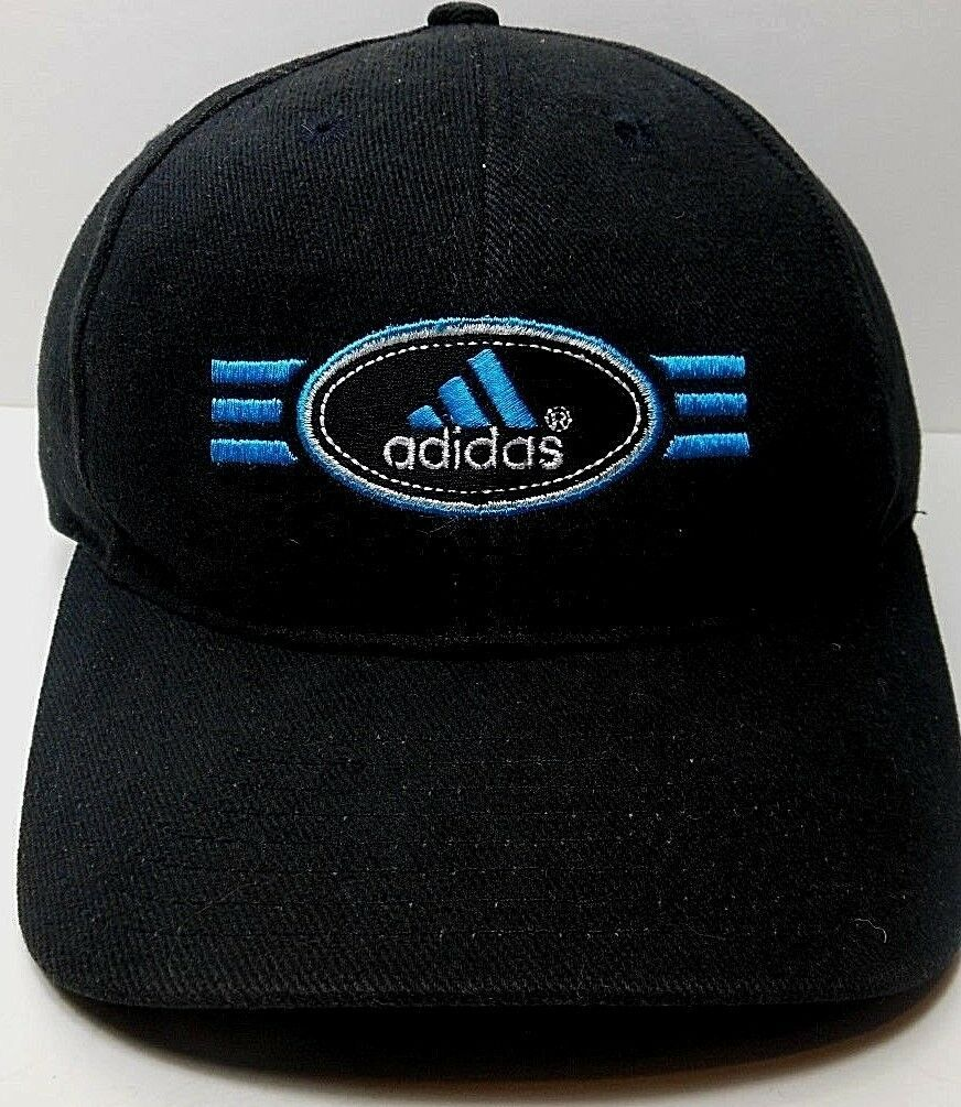 c46b186ed37 Vintage Adidas Embroidered Retro Black OSFA and 50 similar items. S l1600