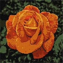 pepita Coppertone Rose Needlepoint Canvas - $64.35