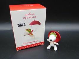 Hallmark Keepsake Ornament Paratrooper Snoopy The Peanuts Movie NIB - $21.51