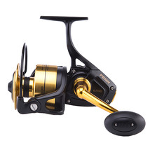 PENN SSV 6.2:1 5+1 Metal Spinning Fishing Wheel L/R Handle Max 15kg Salt... - $278.10