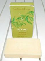 Crabtree & Evelyn Avocado Olive & Basil Moisturising Body Bar 1.75 oz Tr... - $9.85