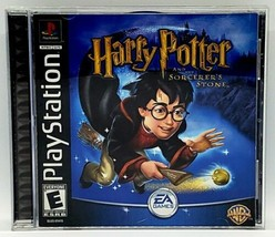 Harry Potter and the Sorcerers Stone (PlayStation 1, 2001) PS1 Game COMP... - $13.85