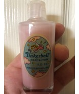 Vintage Tinkerbell Hand Lotion 1 oz 28 ml Tom Fields LTD RARE  - $39.99