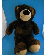 "Build a Bear Brown Teddy Bear 15"" Great size for Cuddling Very Soft BAB ... - $12.86"