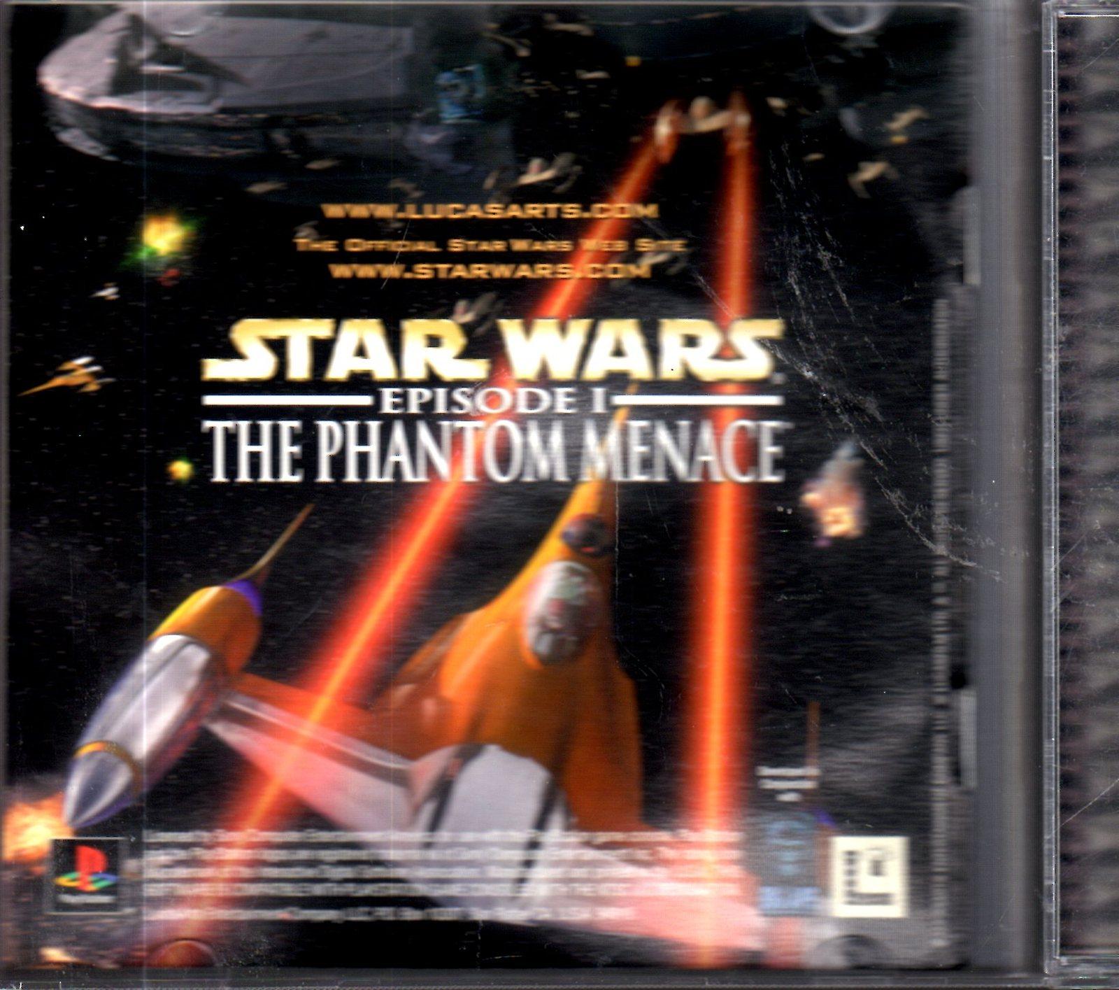 Playstation - Star Wars - Episode I The Phantom Menace