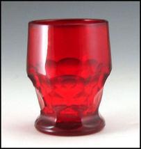 Paden City Ruby Red Georgian 9 oz Tumbler image 4