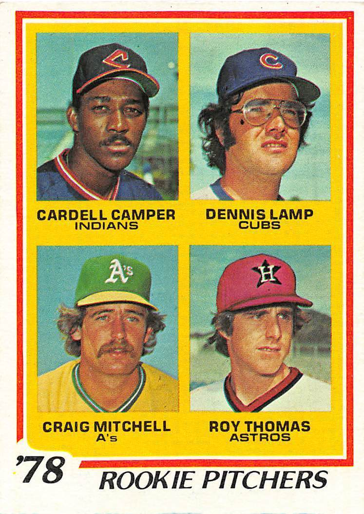 1978 Topps 711 Dennis Lamp Rc Rookie Card And Similar Items