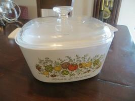 L'Echalote La Marjolaine Spice of Life.CorningWare Porcelain 3 QT.Casserole Dish - $202.50