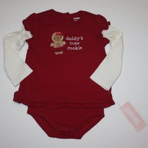 Gymboree Gingerbread Girl Double Sleeve Tee Bodysuit 12-18 months NWT - $15.99