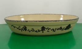 Home and Garden Party BIRDHOUSE Oval Baker Casserole Baking Dish 13-3/4 ... - $39.55