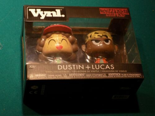 Funko Vynl:Stranger Things - Dustin and Lucas Vinyl Collectibles New