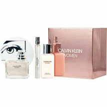 Calvin Klein Women Eau De Parfum Spray 3.4 Oz and Body Lotion 3.4 Oz and... - $77.04