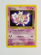 MEWTWO Black Star Promo #3 1999 Kids WB The First Movie Pokemon Card - $19.59