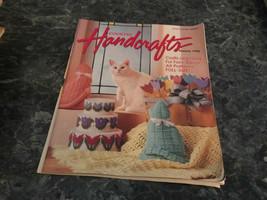 Country Handcrafts Magazine Bazaar 1992 Kitty Overalls - $2.99