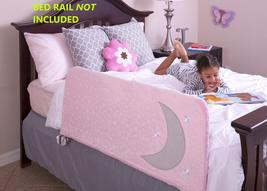 "Cosie Covers Bed Rail Large Fits Bedrails (54-56""L x 20-21""H), Twinkle Pink - $31.58"