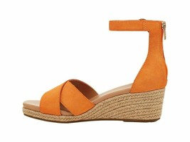 UGG Eugenia California Poppy Women's Suede Wedge Sandals 1118460 - $96.00