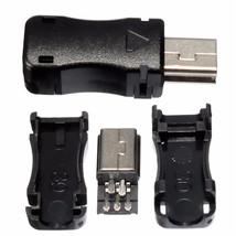 Mini 2.0 USB Tipo Conector B 5-pin para el Montada en superficie soldabl... - $3.78