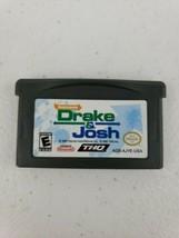 Drake & Josh (Nintendo Game Boy Advance, 2007) CLEANED & TESTED! - $5.99