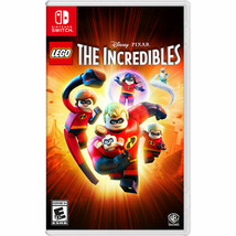Nintendo Switch Lego The Incredibles 2018 Video Game New Factory Sealed - $29.58