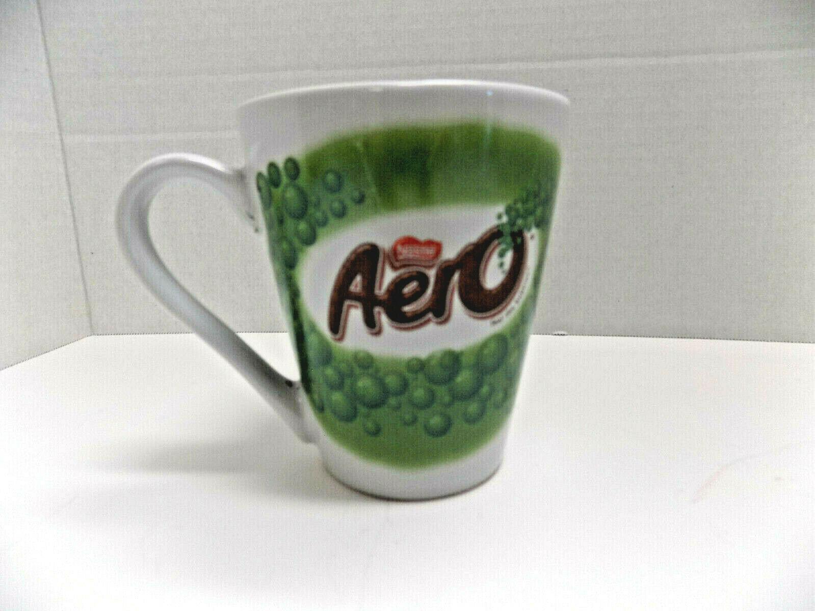 "NESTLE AERO ""Feel the Bubbles"" ADVERTISING MUG UK Aerated Chocolate Rare in USA - $2.85"