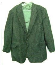 Sz Men's L - John H. Blair Fine Menswear Suit Jacket w/Stiff Lapels & Sh... - $28.49