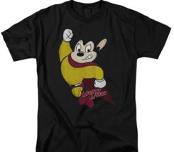 Mickey Mouse Superhero Retro 80's Cartoon Character TV series distressed CBS672 image 2
