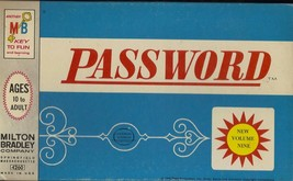 Password Board Game Volume 9 - Vtg 1966 Classic Game by Milton Bradley N... - $49.49