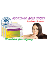 Moisturizes, stimulates hair. Nicotinic acid for hair. 3 packs - 2 of th... - $33.30