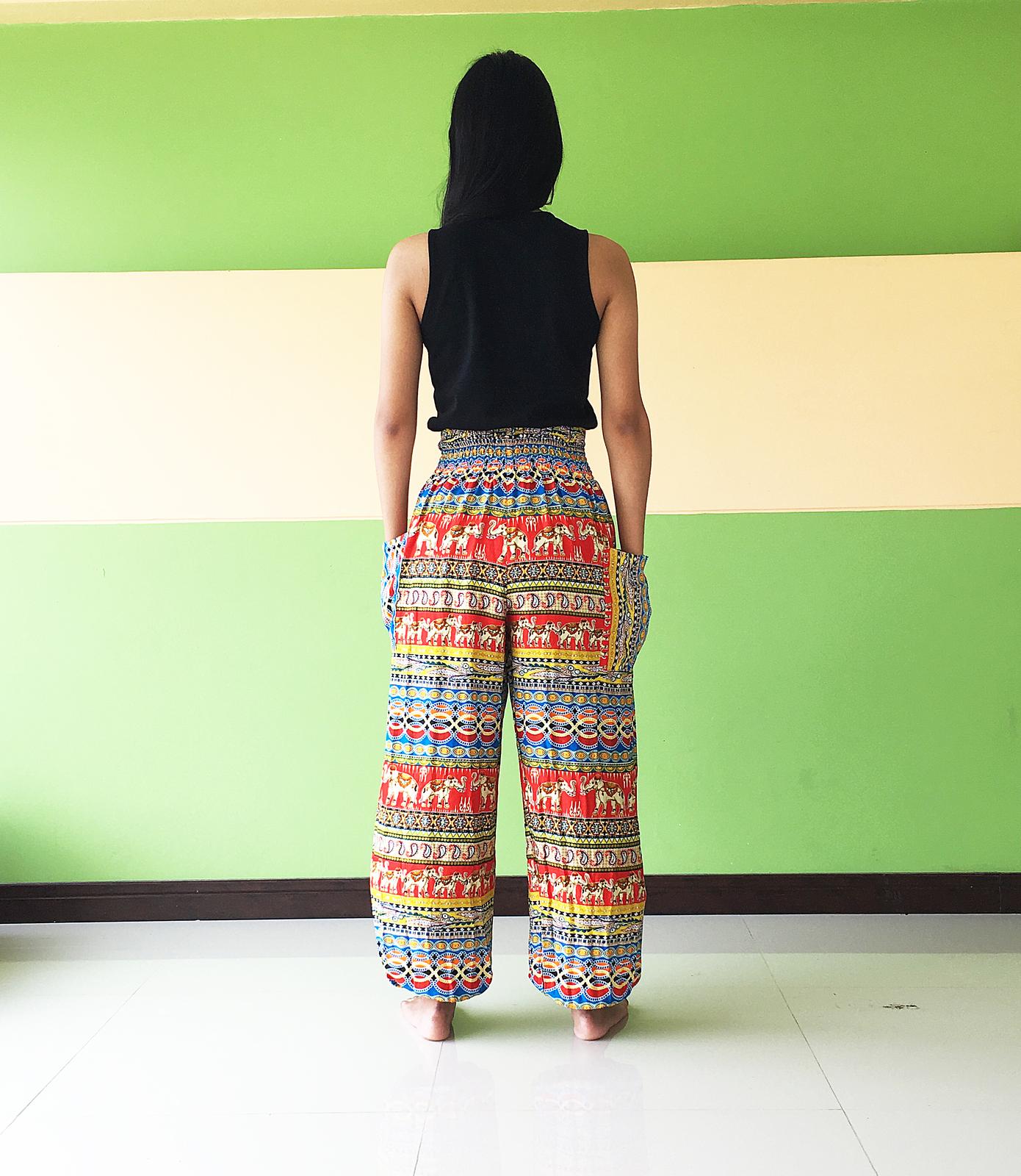 1f7d688a19dd men lightweight summer trousers womens Best Harem Yoga long Pants