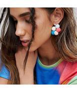Pom Poms Earrings - $5.99
