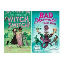 WITCH WARS Childrens Fantasy Series HARDCOVER SET of Books 1-2 Wars & Sw... - $36.99