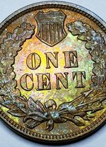 1905 Indian Head Cent Penny Coin Lot 519-91 image 4
