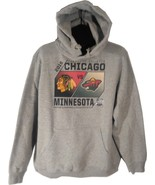 NHL CHICAGO BLACKHAWKS VS MINNESOTA WILD 2016 STADIUM SERIES HOODIE LARG... - $49.95