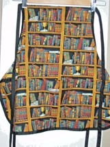 Childrens Apron - Bookshelf Print - Perfect Con... - $5.99