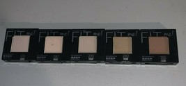 Maybelline Fit Me! Set + Smooth Pressed Powder Compact Variety You Choose Color - $8.99