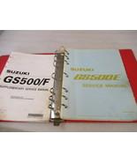 Suzuki GS500E Service Manual Binder P/N 99500-34064-03E - $39.95