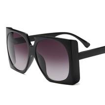 oakshion 2019 Fashion Big Square Oversized Sunglasses Women Men Ladies S... - $17.78