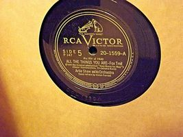 Smoke Rings Victor Records USA 1944 AA19-1499 Antique image 6