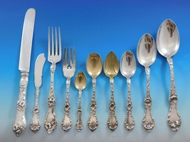 Les Cinq Fleurs by Reed and Barton Sterling Silver Flatware Set 126 pcs Dinner - $8,995.00
