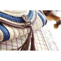 Vintage Straw Tassels Women Messenger Clutch Bags image 8